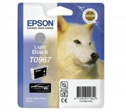 Epson C13T09674010 - inkoust Epson světle černý ultra chrome - T0967