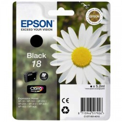 Epson C13T18014010 černá (5,2 ml) XP-102/202/205/302/305/402/405/405WH