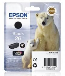 Epson C13T26014010 černý (6,2 ml) XP-600/700/800