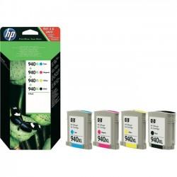HP No. 940XL - czteropak (C2N93AE) inkoustová kazeta HP do Off. Jet PRO 8000/ 8500 CMYK