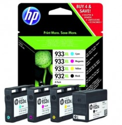 HP No. 932 XL + 933 XL [Combo Pack]