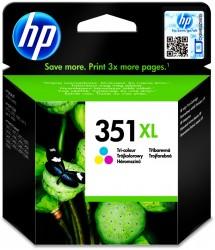 HP No. 351 XL (CB338EE) tříbarevná tisková náplň Viviera