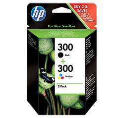 HP No. 300 sada - Black+ Color ComboPack
