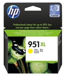 HP No. 951XL - (CN048AE) inkoustová kazeta HP do Off. Jet PRO 8100/ 8600, žlutá
