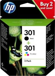 HP No. 301 černá + barevná