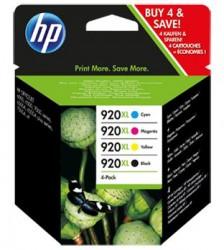 HP No. 920XL do OJ6500, (C2N92AE) Combo Pack CMYK
