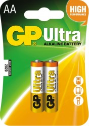 GP Batteries baterie AA (2ks.)Ultra Alkaline