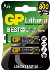 GP Batteries baterie AA (2ks.) Lithiová