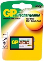 Baterie GP-Batteries R22 9V 200mAh 1 ks.