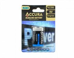 ACCURA alkalická baterie 9V/LR61 x1 /sada 1 kus/