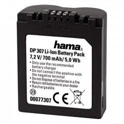 Hama akumulator - náhrada aku Panasonic CGR-S006E (700mAh)