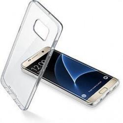 Cellular Line Clear Duo pouzdro pro Samsung Galaxy S7, čiré
