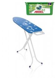 Leifheit AirBoard Compact M + prací kapsle Ariel
