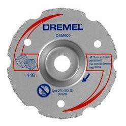 Dremel DSM20 uniwersalna węglikowa tarcza tnąca do cięć powierzchniowych 2615S600JA