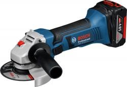 Bosch GWS 18-125 V-LI 2x4.0 Ah + kufr