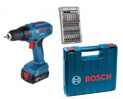 Bosch GSR 1440-LI + příslušenství