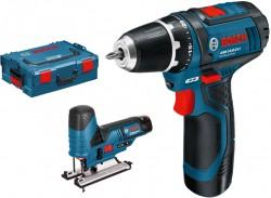 Bosch GSR 10,8-2-LI + GST 10,8 V-LI