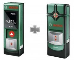 Bosch PLR15 + Detektor PMD7