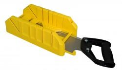 Stanley Plastový kosořez s pilkou čepovkou v úložném prostoru 350x143x95mm 1-19-800