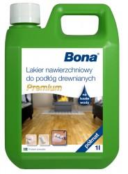 Bona Premium vrchní nátěr na dřevěné podlahy, polomat, 1 L