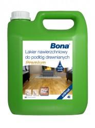 Bona Premium vrchní nátěr na dřevěné podlahy, polomat, 4 L