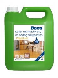 Bona Premium vrchní nátěr na dřevěné podlahy, pololesk, 4 L