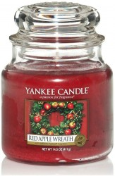 Yankee Candle Red Apple Wreath Classic střední