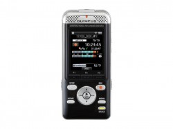 Diktafon Olympus DM-901 + stereo sluchátka