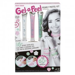 MGA Gel-A-Peel Accessory 3 pk Kit- Perłowe Pastele 546245