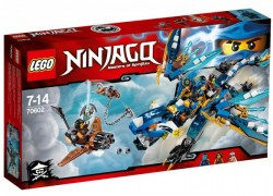 LEGO Ninjago Jayův drak blesku 70602