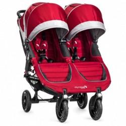 Kočárek Baby Jogger Citi Mini Gt dvojitý Crimson/Gray BJ16436