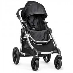 Kočárek Baby Jogger City Select - Srebrna Rama Onyx BJ20410