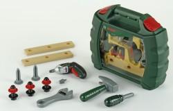 Klein Bosch kufřík s akušroubovákem a nářadím
