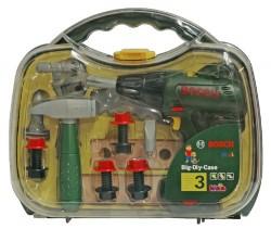 Klein Bosch kufřík s vrtačkou a nářadím