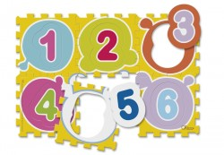 Chicco Měkká podložka puzzle čísla