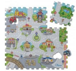 Chicco Měkká podložka puzzle zvířata