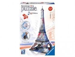 Ravensburger Puzzle 3D Eiffelova věž Flag Edition 125807