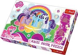 Trefl 15 Magic Decor - Kucyki Pony 14605