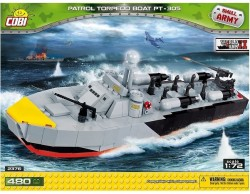 Cobi Malá Armáda Patrol Torpedo Boat 2376