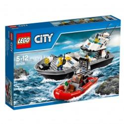 LEGO CITY POLICE Policejní hlídková loď 60129