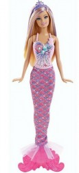 Mattel Barbie Mořská panna měnitelné prvky CBV45R
