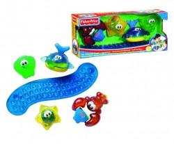 Fisher Price Hračky do vody Stay 'n Play Bath Friends B0662