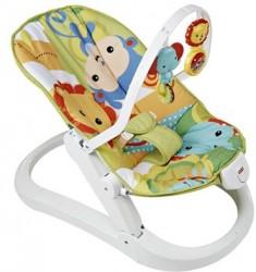 Fisher Price Baby Gear Składany leżaczek z wibracjami CMR20