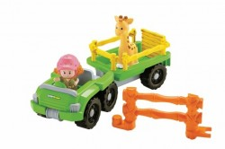 Fisher Price Little People Vozidlo s přívěsem BDY72