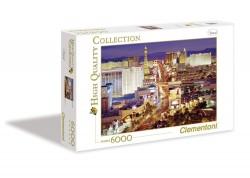 Clementoni PUZZLE 6000 dílků HQ Las Vegas 36510