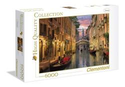 Clementoni PUZZLE 6000 dílků HQ Venice 36517