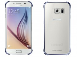 Samsung Clear Cover pro Galaxy S6 černý