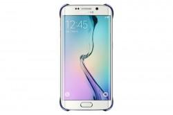 Samsung Clear Cover pro Galaxy S6 Edge černý [EF-QG925BBEGWW]