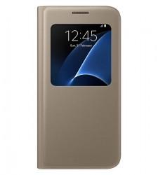 Samsung S View Cover pro Galaxy S7 zlatý [EF-CG930PFEGWW]