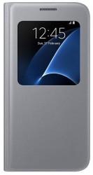 Samsung S View Cover pro Galaxy S7 stříbrný [EF-CG930PSEGWW]